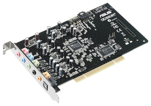Звуковая карта ASUS PCI Sound Card XONAR D-KARA
