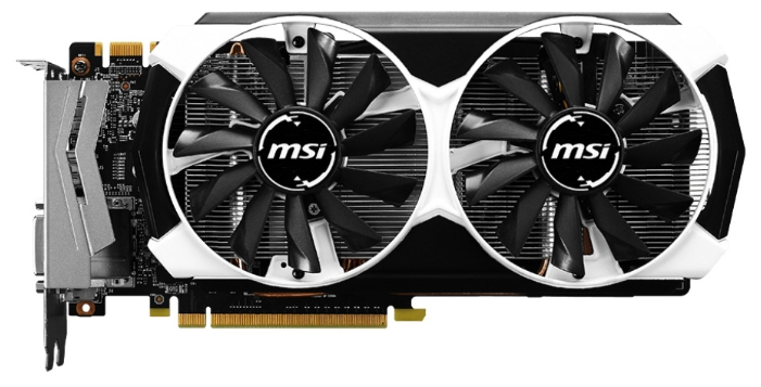 Видеокарта MSI GeForce GTX960 (GTX 960 2GD5T OC)