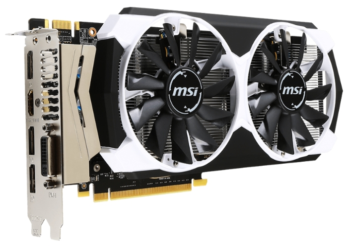 Видеокарта MSI GeForce GTX960 (GTX 960 4GD5T OC)