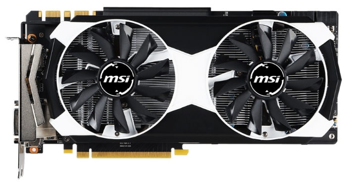 Видеокарта MSI GeForce GTX980 (GTX 980 4GD5T OC)