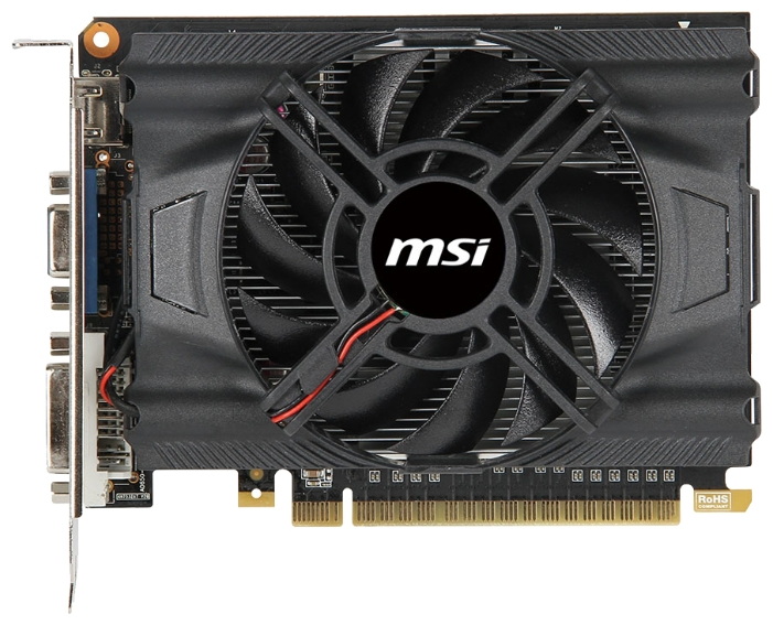 Видеокарта MSI GeForce GTX650 (N650-1GD5/OCV1)