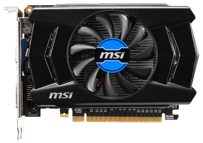 Видеокарта MSI GeForce GTX750 (N750-1GD5/OCV1)