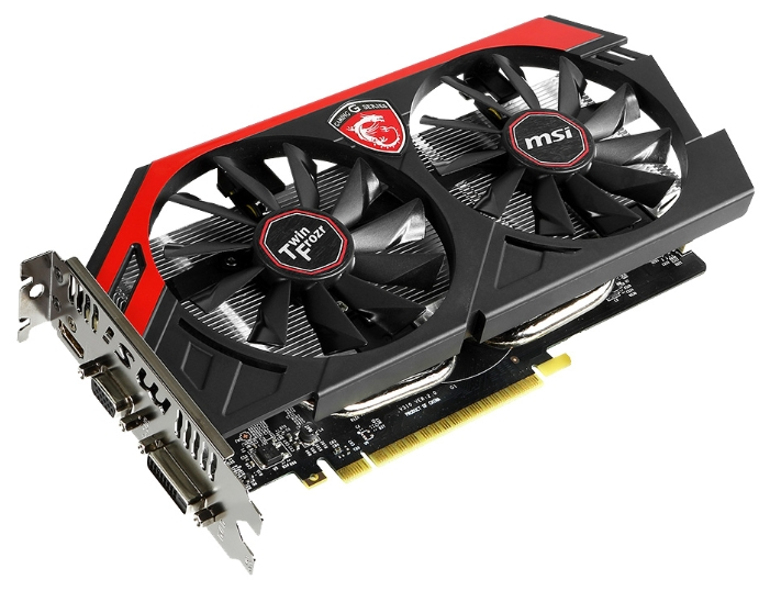 Видеокарта MSI GeForce GTX750Ti (N750TI TF 2GD5/OC)