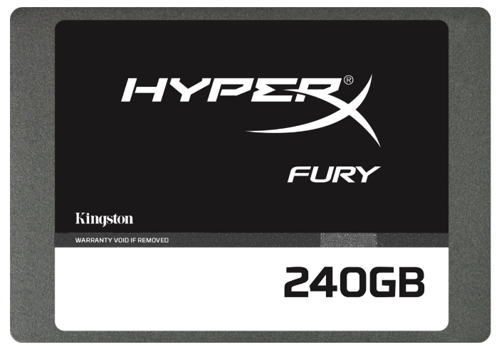 "Диск SSD Kingston HyperX FURY 240 GB 2,5"" SATA3 SHFS37A/240G"